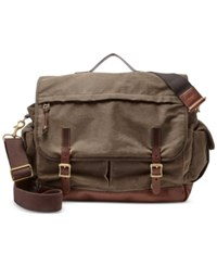 Fossil Men's Defender Top Handle Messenger Bag Brown