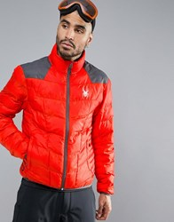 Spyder Geared Ski Coat Red