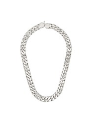Tom Wood Cuban Curb Chain Link Necklace 60
