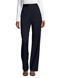 Opening Ceremony Contrast Band Wide Leg Pants Ink