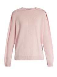 Preen Dahlia Cashmere Sweater Light Pink