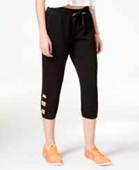 Material Girl Juniors' Cropped Sweatpants Only At Macy's Black