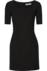Elizabeth And James Aiden Stretch Ponte Mini Dress Black