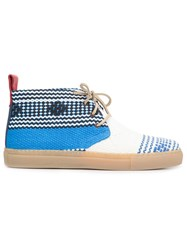 Del Toro Shoes 'Chukka Mexico' Boots Blue