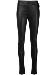 Roberto Cavalli Skinny Fit Biker Leggings Black