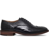 Kg By Kurt Geiger Niles Leather Oxford Shoes Black