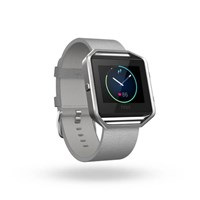 Fitbit Blaze Mist Grey Leather Accessory Band Small
