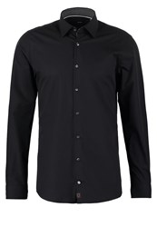Strellson Silas Slim Fit Formal Shirt Schwarz Black