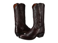 Lucchese M1021.R4 Black Cherry Lonestar Calf Cowbow Cowboy Boots Brown