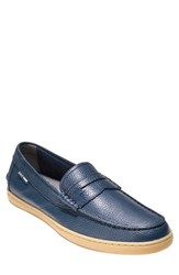 Cole Haan 'Pinch Weekend' Penny Loafer Blazer Blue Leather