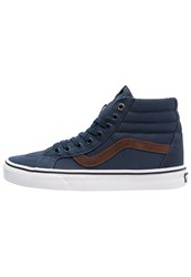 Vans Sk8 Reissue Hightop Trainers Dress Blues True White