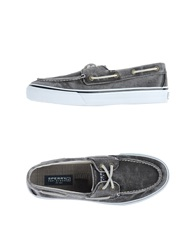 Sperry Top Sider Moccasins Black