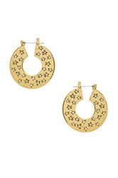 Luv Aj The Stargazer Hoops Metallic Gold