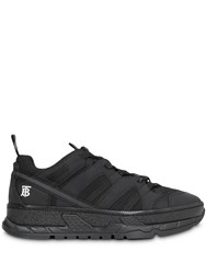 Burberry Mesh And Nubuck Sneakers Black