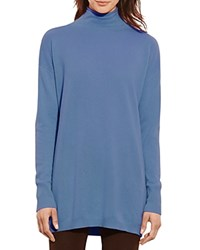 Ralph Lauren Cashmere Funnel Neck Sweater 100 Bloomingdale's Exclusive Poetry Blue