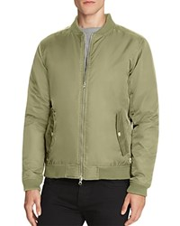 Wesc Rush Nylon Bomber Jacket Green