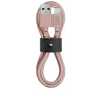 Native Union Belt Cable Lightning To 3.5Mm Pink