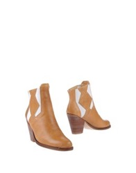 Surface To Air Ankle Boots Camel