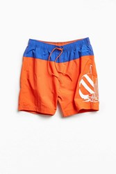 Nautica Uo Sailing Graphic Swim Short Red Multi