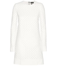 Tom Ford Broderie Anglaise Dress White