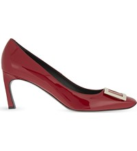 Roger Vivier Belle Vivier Patent Leather Courts Red