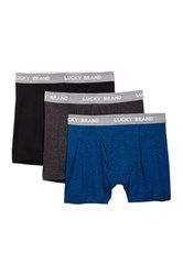 Lucky Brand Boxer Brief Pack Of 3 Multi