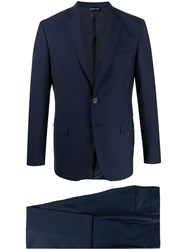 Tonello Fitted Two Piece Suit 60