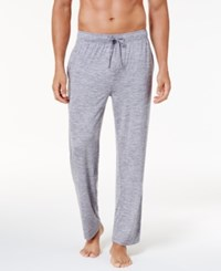 32 Degrees Men's Space Dyed Pajama Pants Light Grey Space