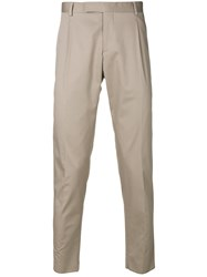 Tonello Classic Tailored Trousers Nude And Neutrals