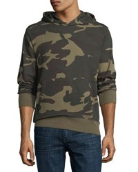 Ovadia And Sons Type 01 Pullover Cotton Camo Hoodie