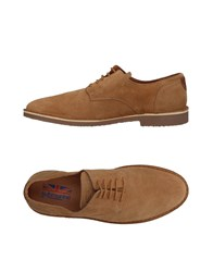 Submarine Lace Up Shoes Beige