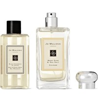 Jo Malone London Wood Sage And Sea Salt Cologne And Black Cedarwood And Juniper Body Wash Set Colorless