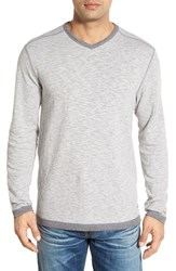 Tommy Bahama Men's 'Seaglass' Reversible V Neck Pullover Black