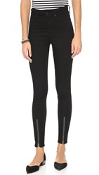 Cheap Monday The High Spray Jeans Front Black