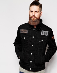 Lee Jeans Sherpa Jacket Black
