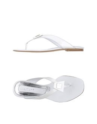 John Richmond Thong Sandals White