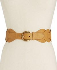 Inc International Concepts Braided Stretch Belt Only At Macy's Natural