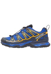 Salomon X Ultra 2 Gtx Walking Shoes Surf The Web Navy Blazer Bright Marigold Blue