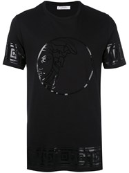 Versace Collection Foil Logo T Shirt Men Cotton S Black