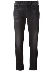7 For All Mankind 'Roxanne' Skinny Jeans Black