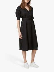 French Connection Clarita Shirt Dress Black