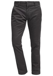 Volcom Frickin Slim Fit Chinos Asphalt Black