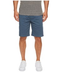 7 For All Mankind The Chino Twill Shorts Blue Wave