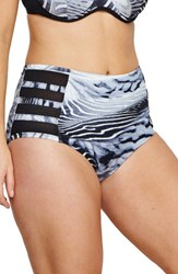 Robyn Lawley Plus Size Women's Lucia High Waist Bikini Bottoms