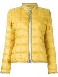 Fay Puffer Jacket Yellow Orange