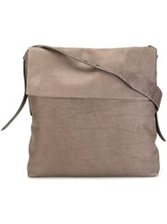 Rick Owens Oversized Shoulder Bag Nude And Neutrals