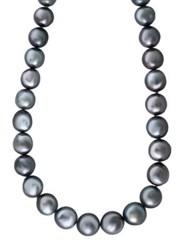 Effy 9Mm Grey Baroque Tahitian Pearl Necklace