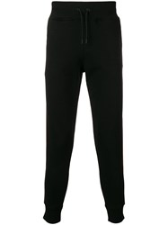 Hydrogen Side Stripe Track Pants Black