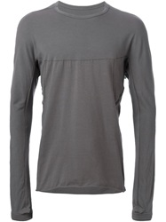 Isaac Sellam Experience Central Trim T Shirt Grey