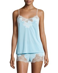 Natori Enchant Nightie Set Light Blue Light Blue W Lace